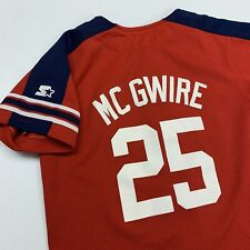 Vintage Mark McGwire St Louis Cardinals Baseball Jersey Youth M Red MLB Baseball