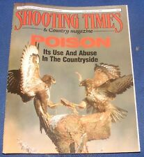 SHOOTING TIMES MAGAZINE JUNE 29-JULY 5 1989 - POISON