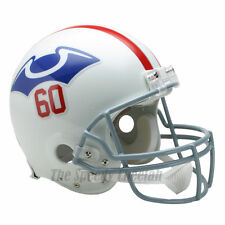 NEW ENGLAND PATRIOTS 1960 THROWBACK NFL AUTHENTIC FOOTBALL HELMET