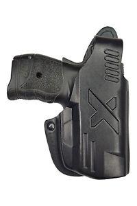 VlaMiTex B4 Leather Holster fits Walther PDP Black OWB Beltholster VlaMiTex