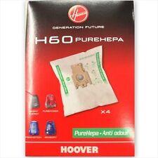 4 SACCHETTI HOOVER H60 35600392 SILENT ENERGY SENSORY PUREPOWER FREEMOTION NUOVI