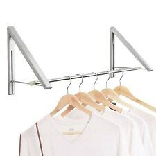 Anjuer Laundry Room Drying Rack Wall Mounted Clothes Hanger Folding Wall New