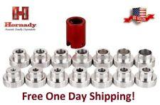 Nuevo Hornady Lock-n-Carga Bull * B2000 comparador Set Completo Con T 14 Insertos B14