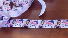 "1 metre, BARBIE , 1"", Ribbon, 25mm, Grosgrain for Hair, Craft, Bows"