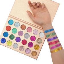 Pro 24 Colors Makeup Eyeshadow Palette Shimmer Matte Pigment Diamond Glitter DL