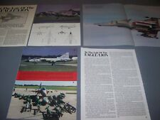 VINTAGE..JAS 39 GRIFFON..HISTORY/PHOTOS/3-VIEWS...RARE! (103D)