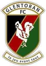 "Glentoran FC Ireland Football Soccer Car Bumper Sticker Decal 4""X5"""