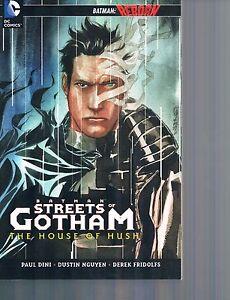 Batman: Streets of Gotham House of Hush Batman Reborn by Dini & Nguyen 2011 TPB