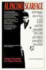 CLASSIC GANGSTER MOVIES - (SCARFACE, GOODFELLAS & THE GODFATHER) POSTER SET