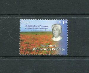 Peru 1256, MNH, Emillo Guimoye Field of Flowers 2000. X29550