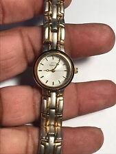 Nice Ladies Dual Tone Anne Klein 10/3048-9 Analog Watch