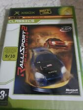 RALLISPORT CHALLENGE 2  XBOX PAL _ UK ENGLISH _ NEW FACTORY SEALED BRILLIANT