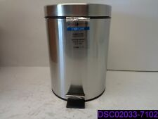 Interdesign 5 Liter Steel Step Can w Bucket Insert #44210