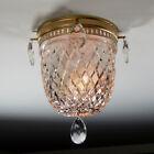 Vintage Flush Mount Ceiling Light Fixture
