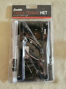 Franklin Table Tennis Net with Soft Rubber Clamp