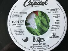 """BEATLES Love Me Do/P.S.I Love You UNPLAYED WLP 30th ANNIVERSARY 7"""" W/ PIC SLEEVE"""