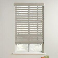 White Ashwood PVC venetian blinds 50mm