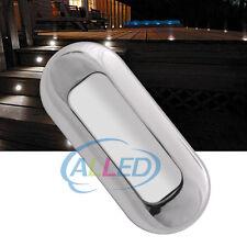 12V Cool White Waterproof LED Courtesy Light Oblong Step/Stair/Deck/Boat/Cabin