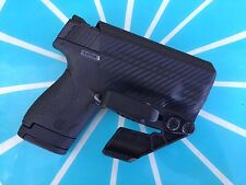 Crazy Eyes Holsters Smith&Wesson M&P Shield IWB KYDEX Holster, 9mm, 40s&w
