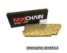 MX CHAIN CATENA PASSO 520 CROSS ENDURO CON RX-RING 120 MAGLIE - BLU