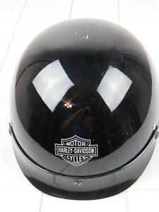 Harley Davidson Black Stock Dot Motorcycle Helmet Size S S168