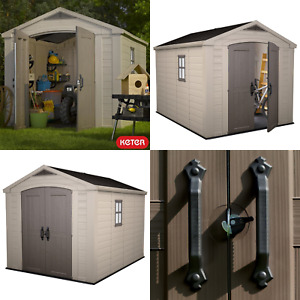 Keter Factor 8ft x 11ft (2.5 x 3.3m) Shed- 10 Years Warranty - FREE DELIVERY