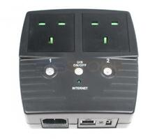 5Gstore Remote Power Switch - 2 Outlets (Type G Plug for UK, Ireland, Hong Kong,