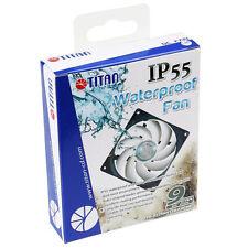 Titan IP55 92mm x 25mm Waterproof Dustproof PC Case Cooling Fan TFD-9225HH12B