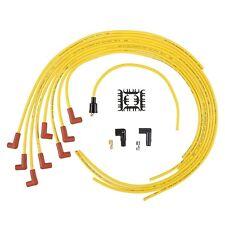 BNIB Accel Spark Plug Wire Super Stock 8mm Yellow 90 Deg Boots HEI Style 4041
