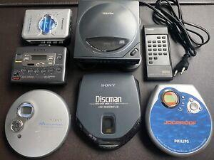 Lot de Walkman et Discman Sony Toshiba Panasonic Philips