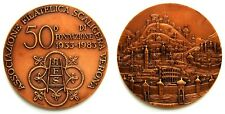 Medaglia Associazione Filatelica Scaligera Verona (Lorioli) 50° Di Fondazione