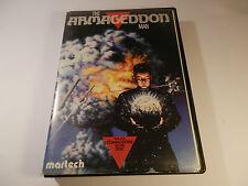 DISCO RARO 5.25/cassette gioco l'Armageddon uomo COMMODORE C64 GIOCO 128 1987