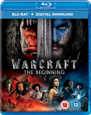 Warcraft: The Beginning (Blu-ray + Digital Download) SEALED SENT 1ST CLASS POST