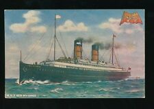 Shipping IOM Isle of Man Steam Packet Co official R.M.S.Ben-my-Chree pre1919 PPC