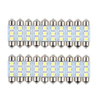 20x 36mm 3SMD 5050 6418 C5W CANBUS Error LED Bulb License Plate Dome Map Light