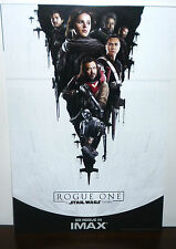 """IMAX Exclusive Star Wars Rogue One: A Star Wars Story Movie Poster Print 13""""X19"""""""