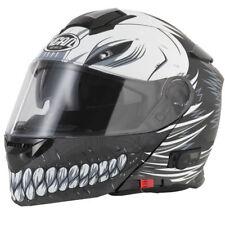 VCAN V271 Full Face Bluetooth 5 Motorcycle Helmet - Hollow / Matt Black L