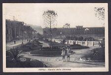 NAPOLI CITTÀ 183 GIARDINI - GIOCHI BAMBINI  Cartolina viaggiata 1930