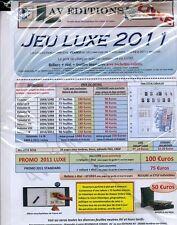 JEU AV FRANCE LUXE 2011