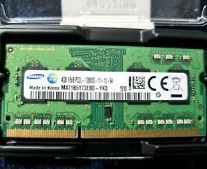 8GB (2 x4GB) Samsung DDR3 PC3L SODIMM RAM M471B5173EB0-YK0 for laptop / notebook