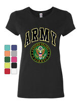 United States Army Cotton T-Shirt Army Crest Patriotic