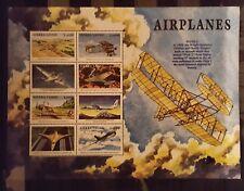 203. Briefmarken Flügzeuge Aviation Sierra Leone Kb.,postfrisch