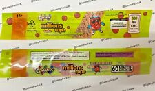 20 x Millions Cola Rope Candy - EMPTY Cali Pack Bag - For Gummies Sweets Gummy