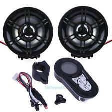 Motorcycle Bluetooth Audio Sound System Radio Stereo Speaker Amplifier FM/SD/USB