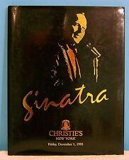 Christie's Frank Sinatra Collection Vertu Faberge Paintings Memorabilia Catalog