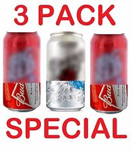 3 HIDE A BEER CAN COVERS SODA SLEEVES TAILGATE COVER CAMO DISGUISE WRAP