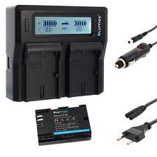 Batterie pour canon lp-e6 + Dual Chargeur Charger pour canon lp-e6 (N) | 65061 | 90329