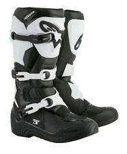 Alpinestars Tech 3 Motocross MX Offroad Race Boots Black White  Adults