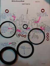 KitchenAid Artisan 5KES100 Coffee 16x O Ring Full Repair kit + Group Gasket Opv