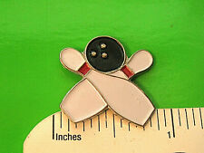 Bowling - hat pin , lapel pin , tie tac , hatpin Gift Boxed 09710
